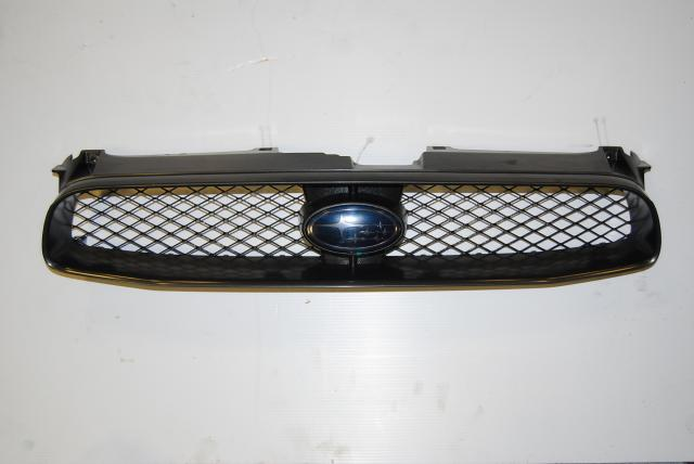 Subaru Impreza WRX Version 8 Front Grille assembly, GD / GG JDM upper Grill with tinted badge