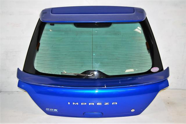 Impreza GGA Sportwagon, Rear Door Hatch, 20K Hatchback Trunk with Spoilers