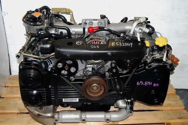 WRX EJ205 Motor For Sale, DOHC 2002-2005 2.0L AVCS Turbo Engine