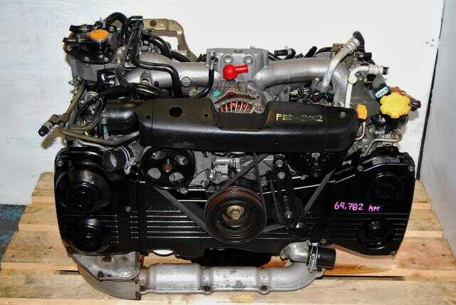 WRX 2002-2005 EJ205 Engine, DOHC AVCS EJ20 Motor with TF035 Turbo & Boost Control Solenoid