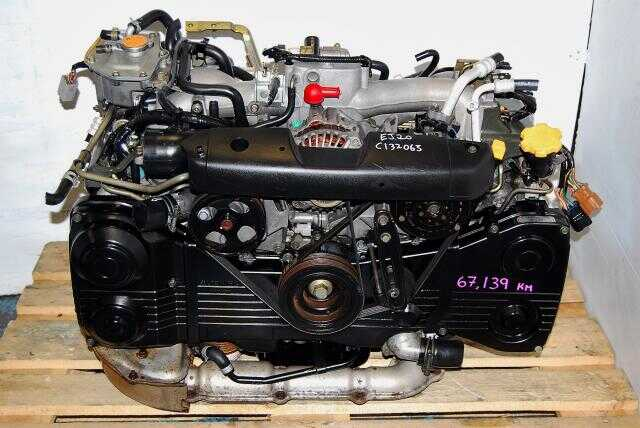 Used WRX Replacement Engine For Sale, EJ205 AVCS Turbo Motor 2002-2005 DOHC Impreza