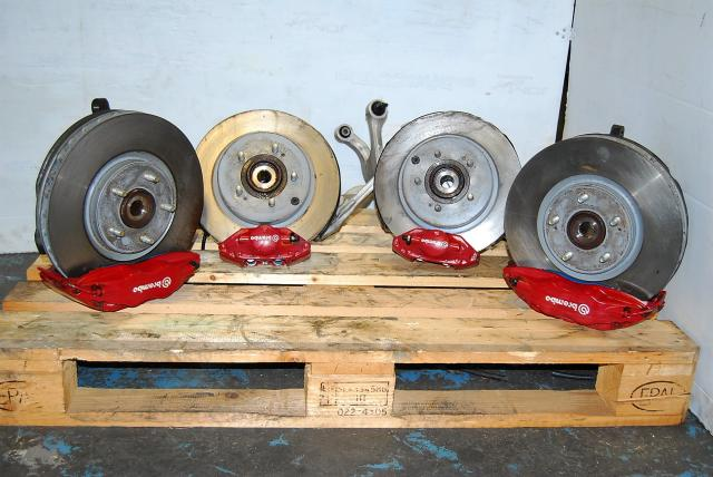 2008 Mitsubishi Lancer EVO 7 8 9 Complete Brembo Brake Assembly, CT9A