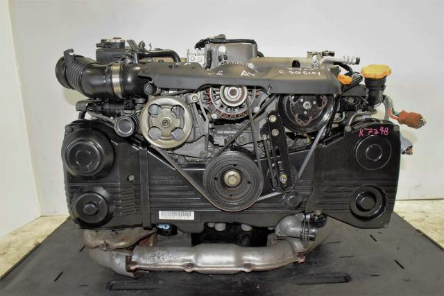 Impreza WRX 2002-2005 EJ Turbo Engine, 2.0L DOHC AVCS EJ205 Motor with Boost Control Solenoid For Sale