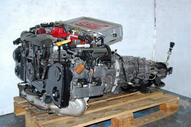 Version 7 WRX STi EJ207 2002-2005 Engine 2.0L Complete Engine & TY856WB1CA Transmission Package