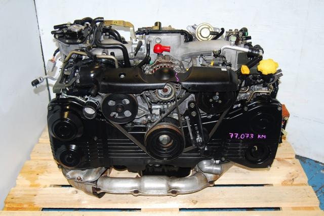 Subaru WRX 2.0L 2002-2005 EJ20 Turbo Engine For Sale, AVCS TD04 Turbo Model EJ205 Motor Replacement