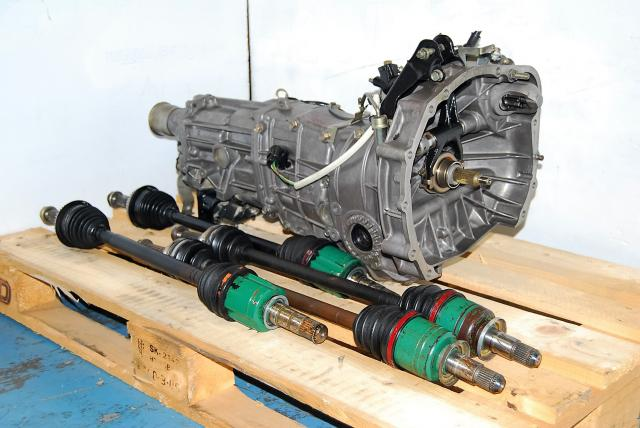 Used Subaru WRX 2002-2005 Transmission Replacement, JDM TY755VB4BA 5MT Package with 4.444 Rear Diff For Sale