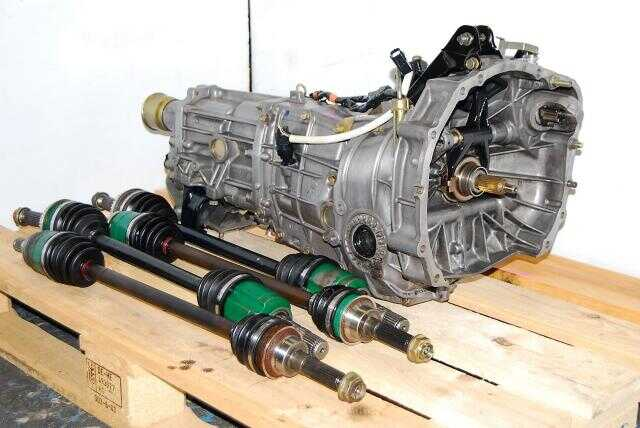 WRX GD 5MT Replacement, JDM 2002-2005 TY755VB5BA 5-Speed Transmission with 4.444 LSD Differential Package For Sale
