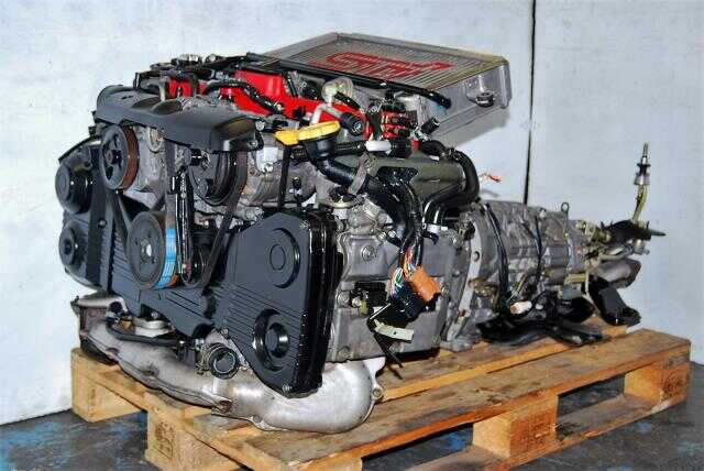 JDM WRX STi EJ207 2002-2005 Version 7 Engine 2.0L Complete Engine & TY856WB1CA Transmission Package