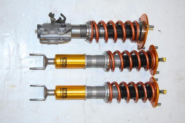 Mitsubishi EVO 9 OHLINS Adjustable Aftermarket Coilovers with Dual Flow Valves