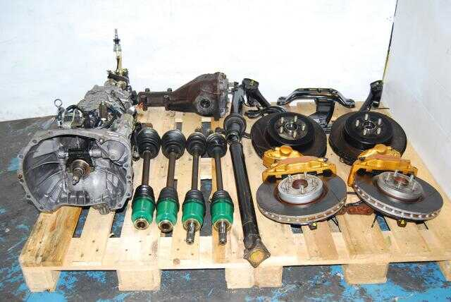 WRX STi 6MT Swap, TY856WB1CA Version 7 5x100 Complete Transmission Package