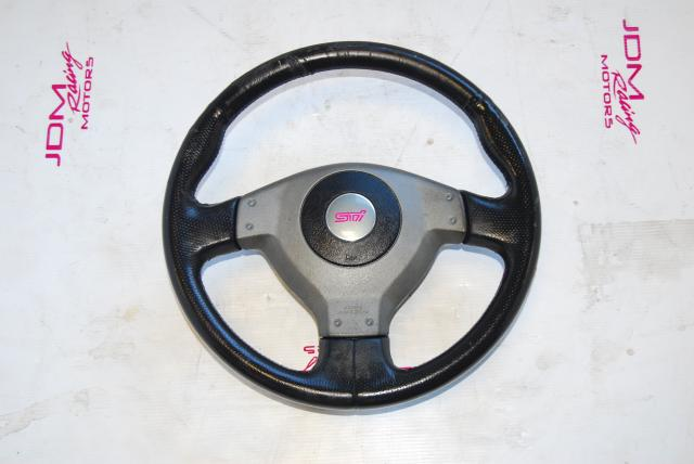 Used Subaru STi WRX 2004-2005 Version 8 Steering Wheel For Sale