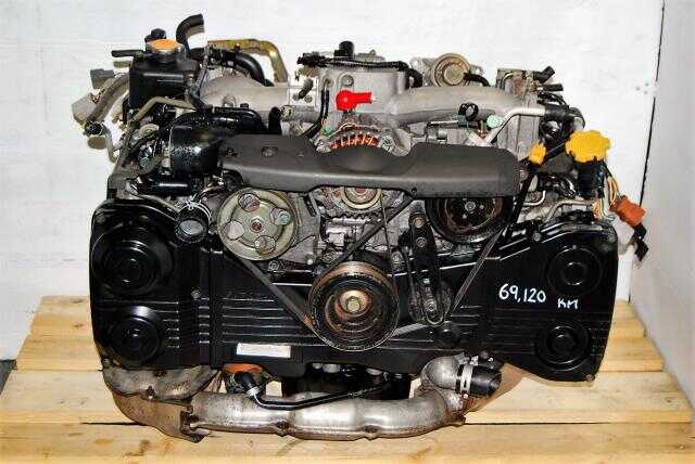 Impreza WRX Turbo 2002-2005 EJ205 Motor For Sale, AVCS DOHC 2.0L EJ20 Engine
