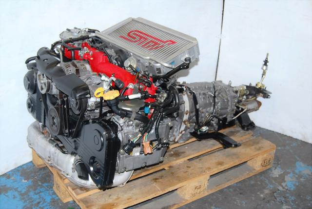 Version 8 WRX 02-05 EJ207 STI Engine, DOHC 2.0L Motor & DCCD 35:65 Transmission Package