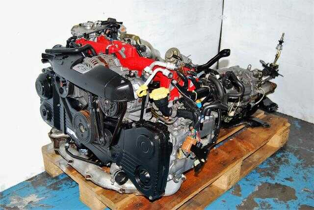 JDM Forester STi 2.5L EJ255 Turbo Motor & TY856WL4CC 6-Speed R180 FSTi 3.9 Transmission For Sale
