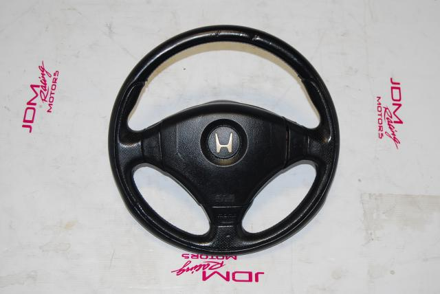 JDM Acura Integra Type R DC2 OEM Steering Wheel with SRS Airbag For Sale