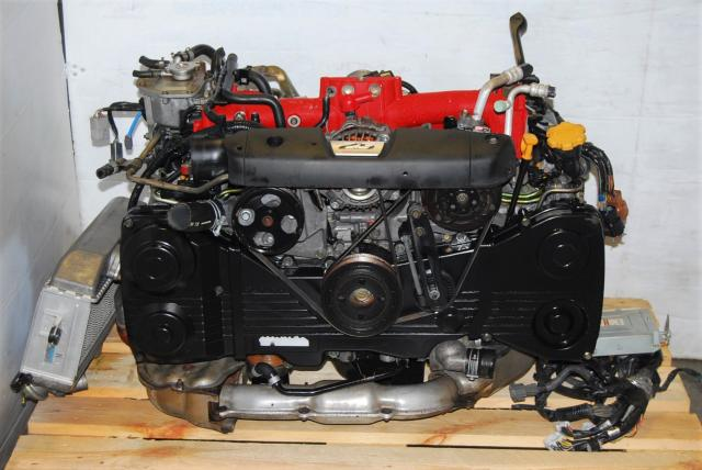 Subaru Forester STi EJ255 Engine, JDM 2.5L SG5 SG9 Motor with VF41 Turbo For Sale SG EJ25