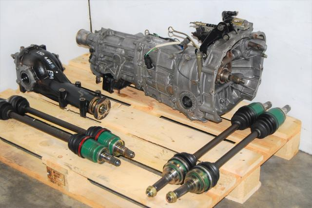 WRX 2002-2005 5MT For Sale & LSD R160 4.444 Differential, JDM 02-05 TY754VB6AA Replacement 5 Speed Manual Transmission