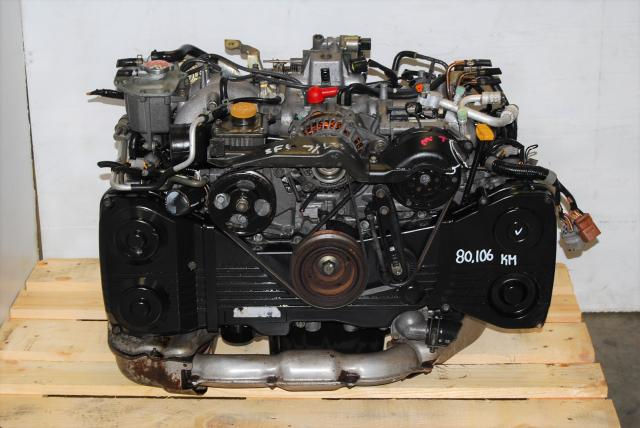 WRX EJ205 Turbo Motor Replacement For Sale, JDM DOHC 02-05 2.0L EJ20 Turbo Engine