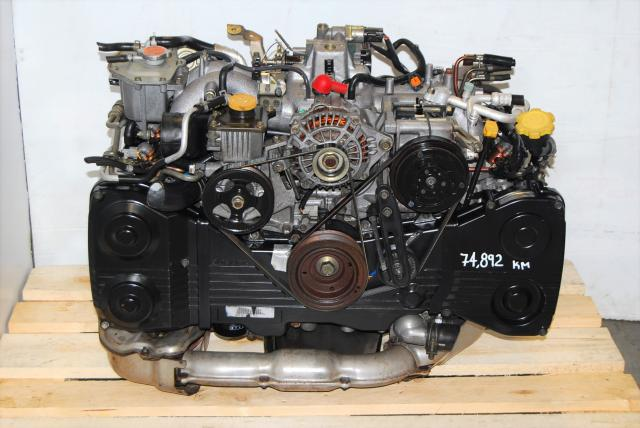 JDM EJ20 Turbo Motor Replacement For Sale, DOHC 02-05 2.0L EJ205 Turbo Engine