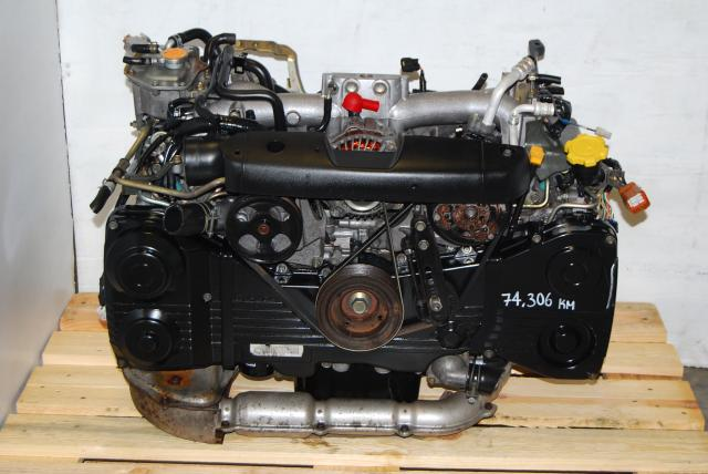 WRX Turbo EJ Motor For Sale, 2002-2005 Impreza EJ205 2.0L AVCS Engine
