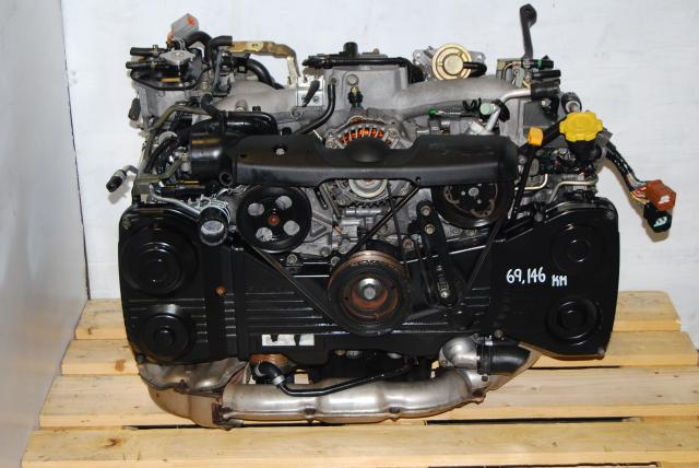 WRX Turbo EJ205 GD Engine For Sale, AVCS 2002-2005 EJ20T AVCS Motor