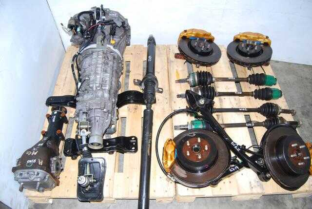 WRX STi TY856WB1CA Front LSD 6MT, JDM Version 7 6 Speed Complete Transmission Package
