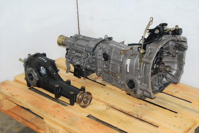 WRX Manual Transmission For Sale, JDM 2006-2007 Push Type 5MT and 4.444 Differential