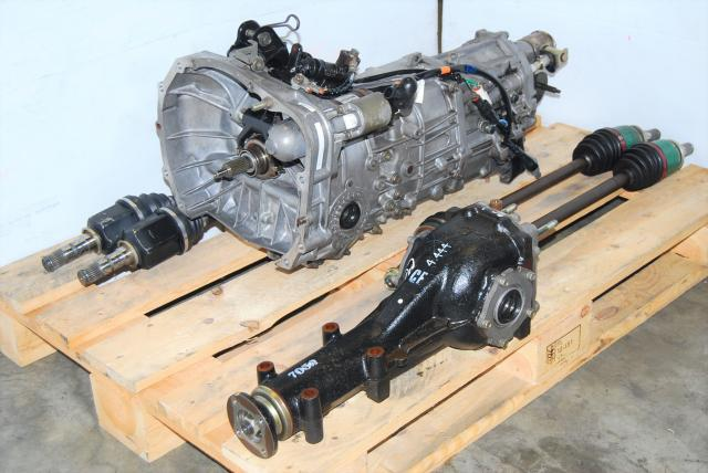 WRX Impreza 5MT Replacement Package, JDM 02-05 5-Speed TY755VH4AA Transmission, 4.444 Differential and Axles For Sale