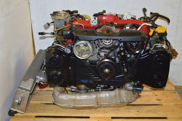 Subaru STi v8 EJ207 with Twin-Scroll VF37 Turbo Engine For Sale, JDM 02-07 Version 8 2.0L Motor Swap