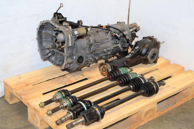 JDM WRX 02-05 5MT 4.444 Swap For Sale with R160 Matching Rear Diff and 4 Corner Axles