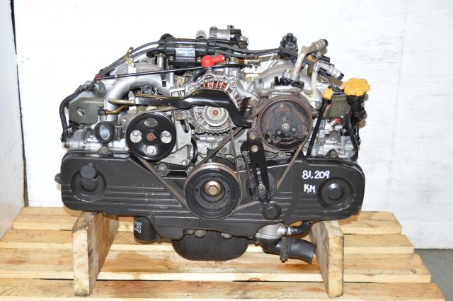 Used JDM Subaru EJ201 2.0L Engine Replacement for 2.5L EJ251 Motor For Sale