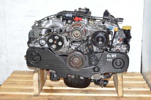 JDM EJ201 2.0L Subaru Motor Replacement for 2.5L EJ251 Engine For Sale