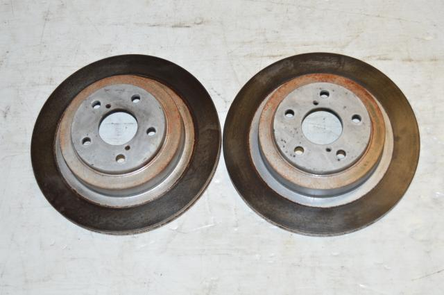 OEM Subaru WRX 2002-2005 Rear 2 Pot 5x100 Discs For Sale