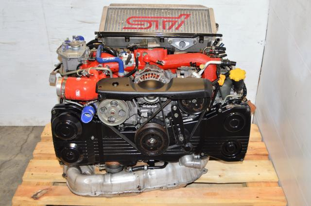 JDM Suabru STi Version 8 EJ207 Engine Package, v8 02-07 DOHC 2.0L AVCS Motor For Sale