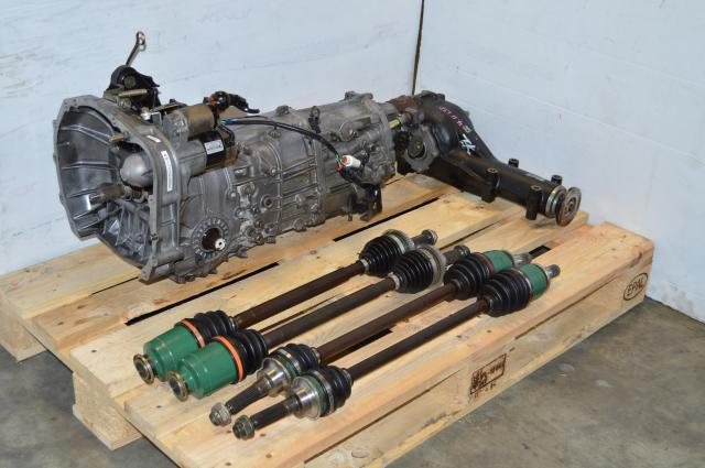 Subaru 02-05 WRX 5 Speed Manual Transmission For Sale, JDM TY754VBBBA 5MT, 4.11 LSD Rear Diff& Axles