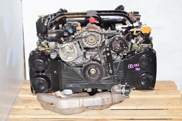 Used JDM Legacy 2004-2005 EJ20Y Engine For sale with VF38 Twin Scroll Turbo