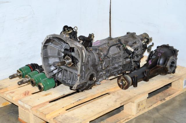 JDM Impreza WRX 2002-2005 TY754VV4AA 5MT Replacement, JDM TY755VB1AA Transmission, 4.444 Diff & Axles For Sale