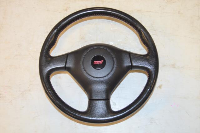 Used Subaru WRX STi v9 OEM Steering Wheel Assembly