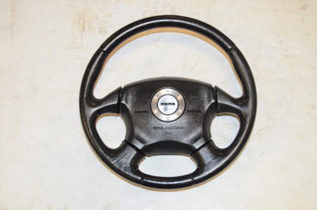 Used Subaru Impreza STi 2002-2007 Version 7 Momo OEM Steering Wheel For Sale