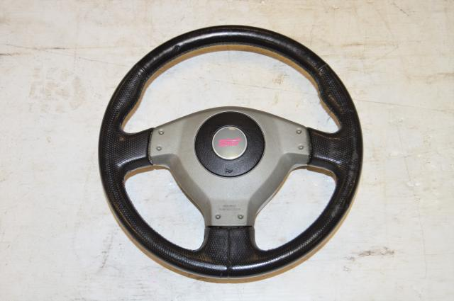 Used Subaru Version 8 STi Steering Wheel Assembly For Sale