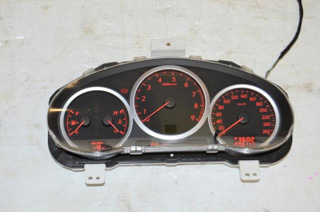 JDM Impreza WRX Version 9 Gauge Cluster For Sale with Opening Ceremony (AT)