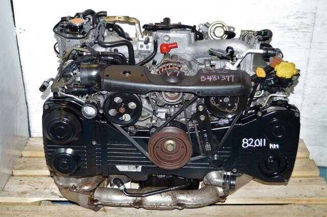 WRX 2002-2005 Turbo EJ205 2.0L Motor For Sale, JDM Quad Cam EJ20 Turbo AVCS Engine