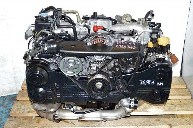 Subaru WRX 2002-2005 EJ205 Engine For Sale, JDM EJ20 Turbo AVCS 2.0L DOHC Motor Package