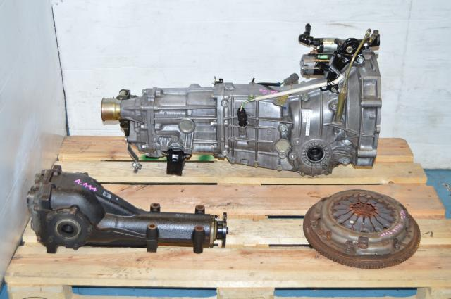 WRX 06-07 Manual Transmission Replacement, JDM Push Type 5MT with 4.444 Diff Package For Sale