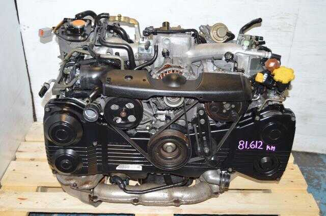 WRX 2002-2005 2.0L EJ205 Turbo Motor For Sale, JDM Quad Cam EJ20 AVCS Engine