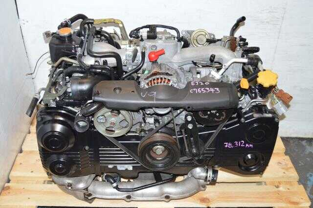 Subaru EJ205 WRX 2002-2005 AVCS Motor, JDM EJ20 Turbo DOHC Engine For Sale