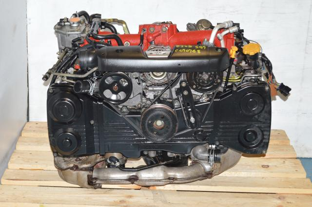 JDM Forester 2.5L STi EJ255 Engine For Sale, Subaru 2004-2007 DOHC AVCS Motor with VF41 Turbo