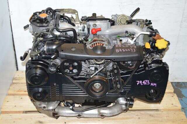 Subaru WRX 02-05 GD GG EJ205 Turbo Engine, JDM DOHC AVCS TD04 Motor For Sale