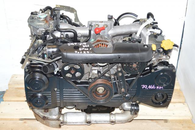 JDM EJ205 2.0L WRX Replacement Engine, EJ20 Turbo Impreza Motor Package