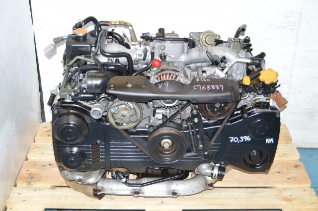 WRX 2002-2005 DOHC 2.0L EJ205 Turbo AVCS Motor with TD04 For Sale